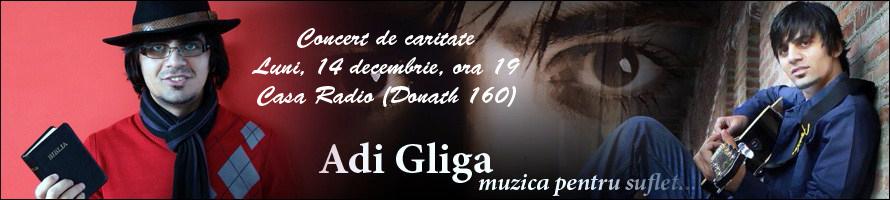 Concert de caritate cu AdiGliga