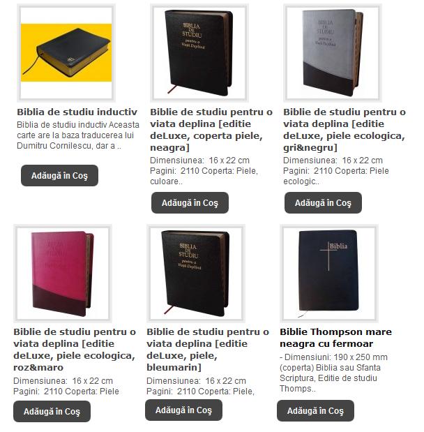 BIBLII DE STUDIU