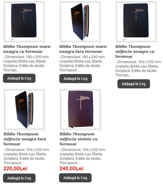 BIBLII THOMPSON