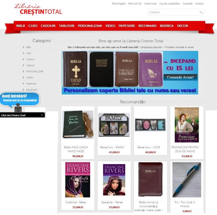 libraria crestin total
