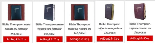 5 biblii thompson