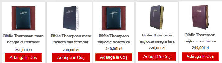 5 biblii thompson