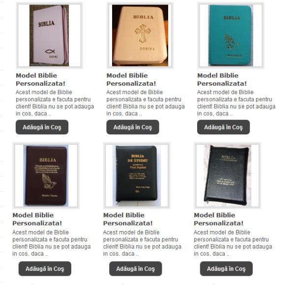 biblii personalizate
