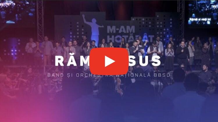 Band și Orchestra Națională BBSO – Rămâi Isus – Oficial video