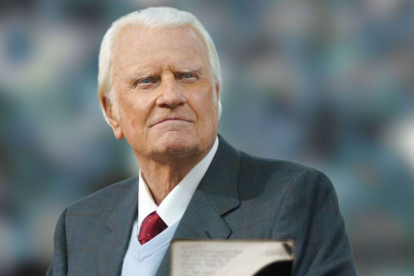 Franklin Graham: La varsta de 99 de ani, Billy Graham a parasit lumea asta pentru o viata eterna in cer, intr-un loc pregatit de Isus Hristos, pe care l-a propovaduit timp de 80 de ani
