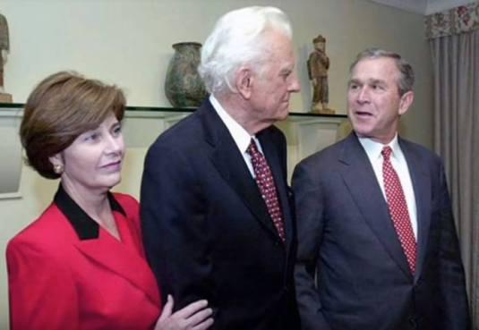 Președintele George W. Bush povestește – Cum mi-a schimbat viața Billy Graham