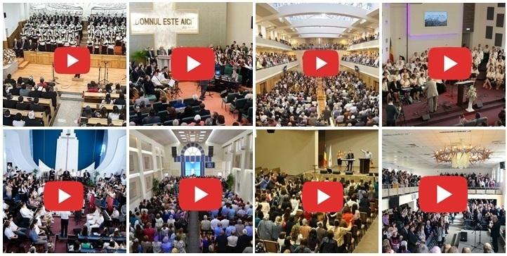 ACUM Peste 90 DE BISERICI TRANSMIT LIVE VIDEO