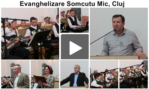 Evanghelizare Biserica Penticostala Șomcutu Mic, Cluj