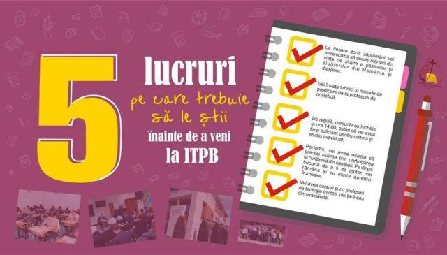 Înscriere ITP București