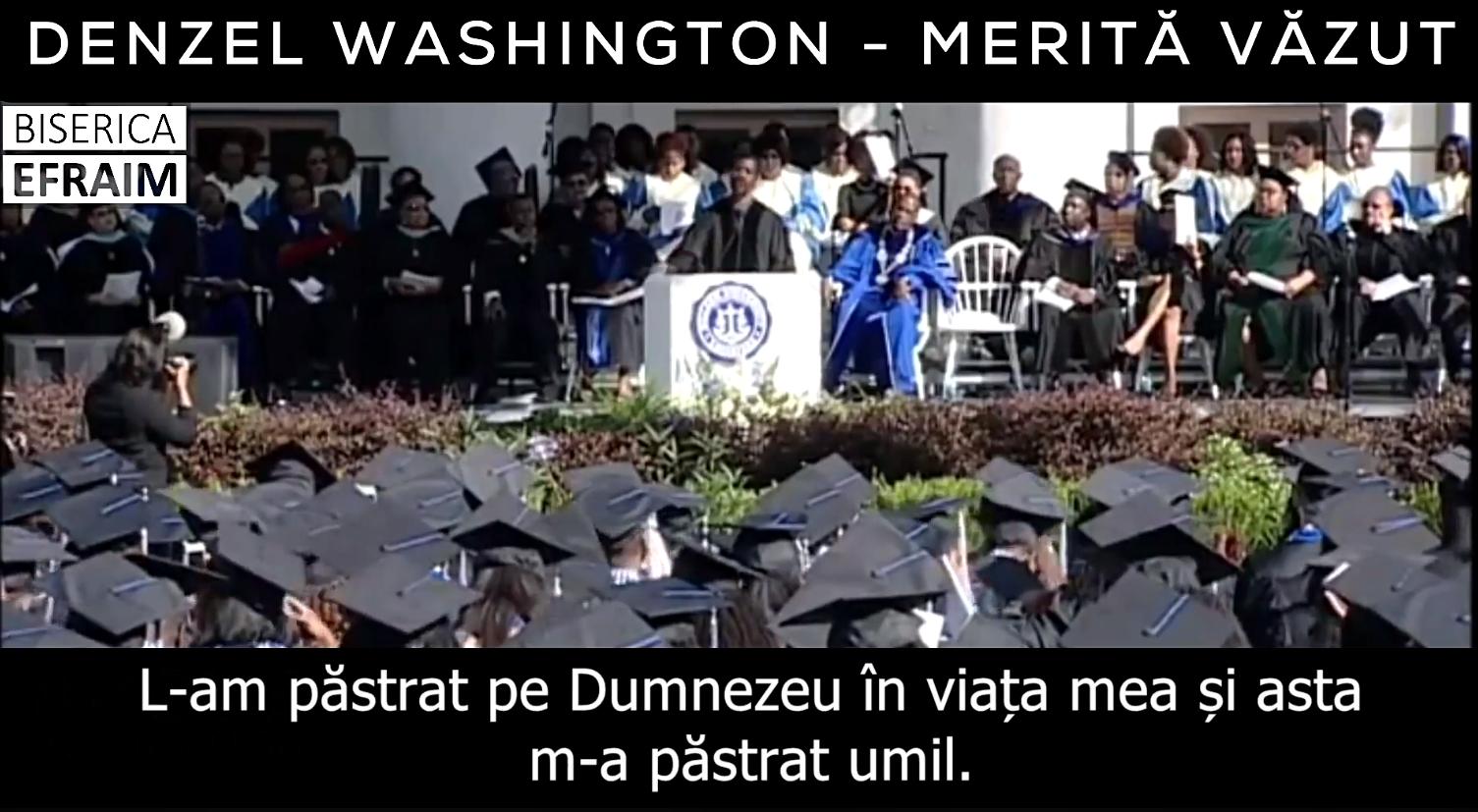 Denzel Washington – Merită văzut