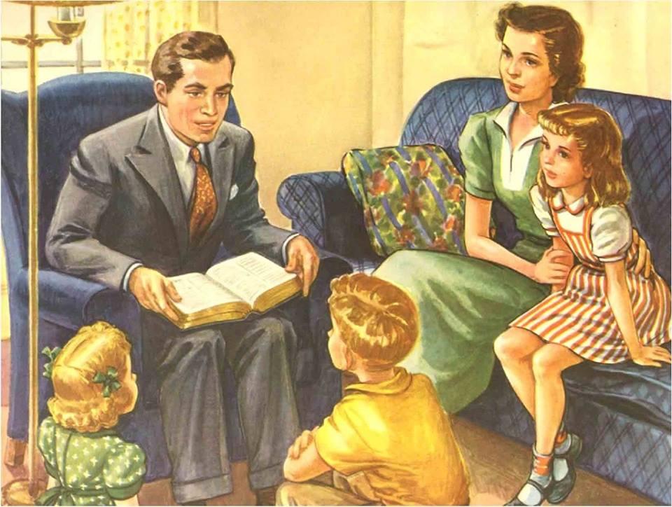 O familie-n slujba sfântă. O Biserică unită prin Isus nu va pieri