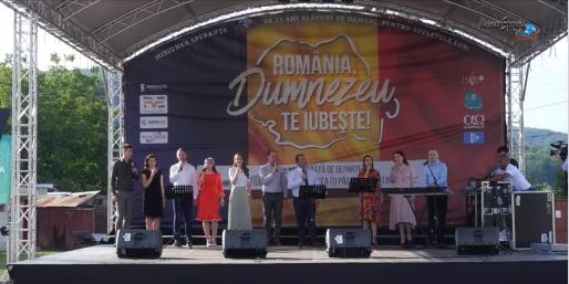 VIDEO | Turneu Speranța – Beclean. România, Dumnezeu te iubește!