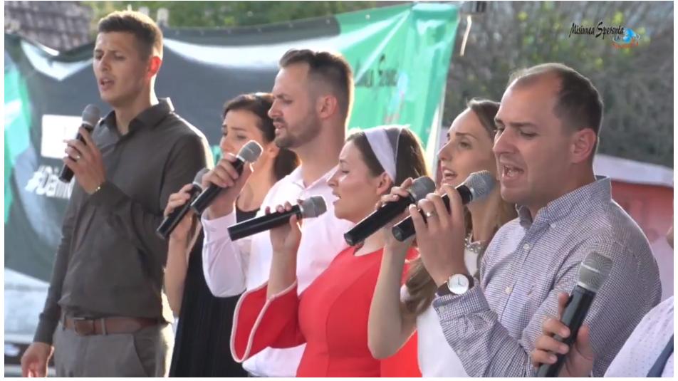 ACUM LIVE VIDEO | Turneu Speranța la Şintereag – România, Dumnezeu te iubește!