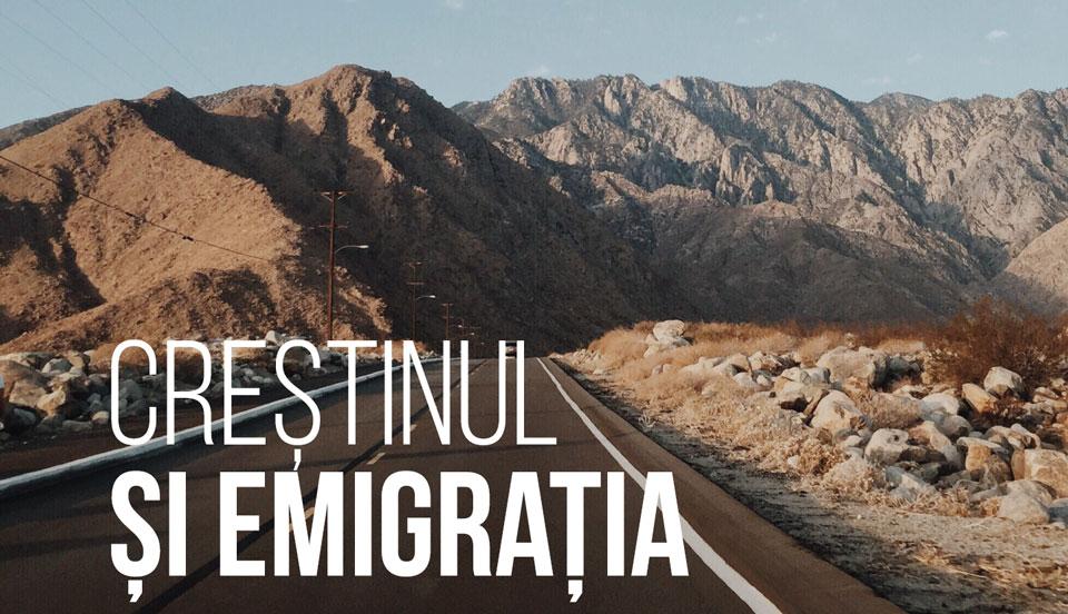 Creștinul și emigrația