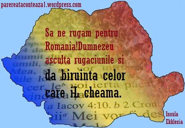 Mesaj tuturor fraților creștini din România