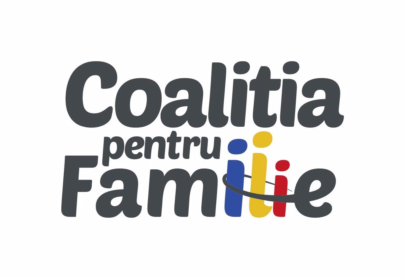 Comunicat de presă – Coaliţia pentru Familie