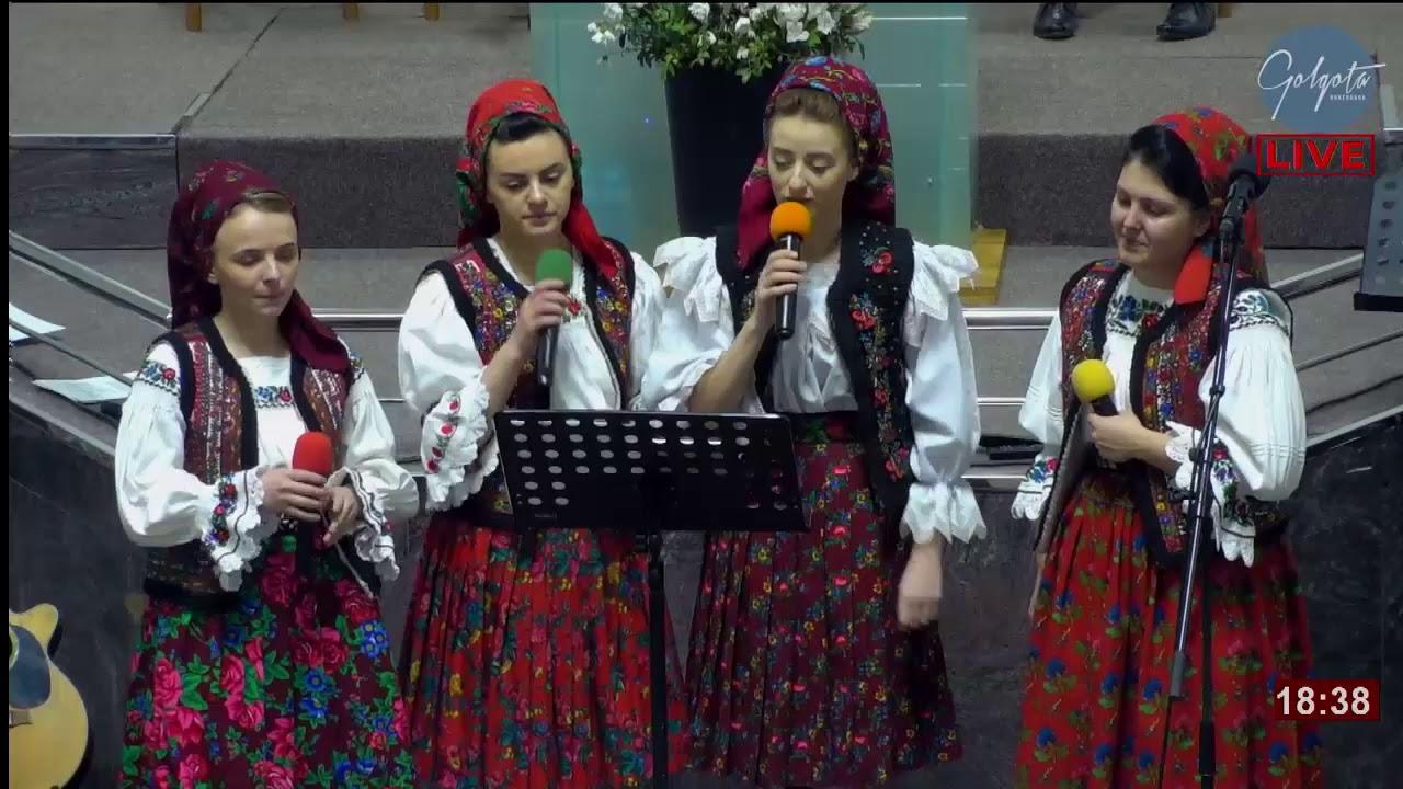 Grup de surori de la Moisei: Căci Domnul poate. Poţi să plângi tu, lume toată