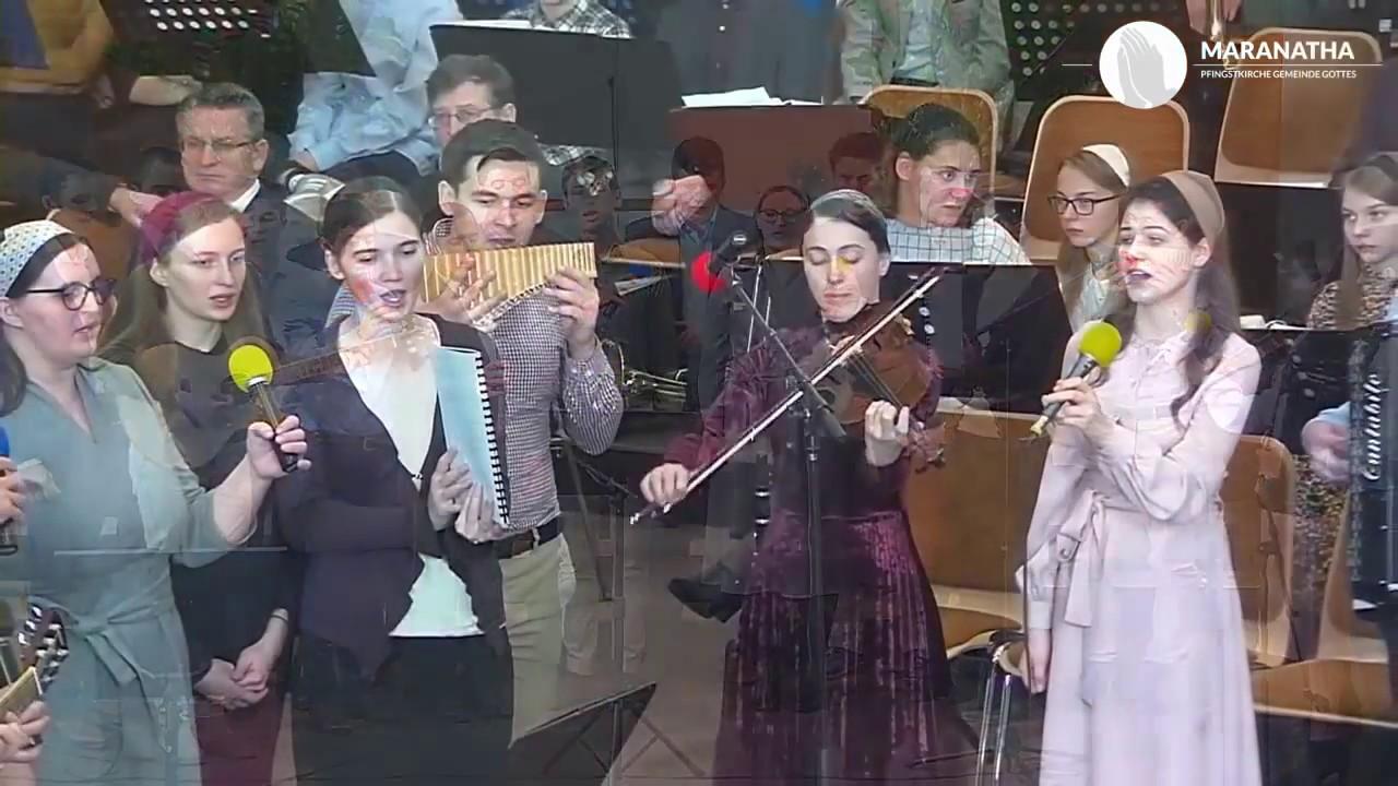 Familia Filip & Naomi Hăprian si grupul: Zorile au sosit trambita va suna – Aleluia