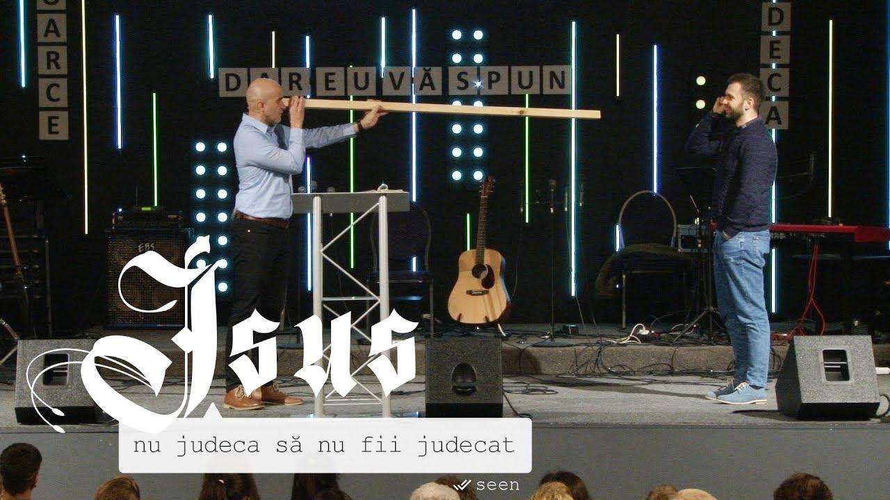 Cristian Sonea – Nu judeca să nu fii judecat