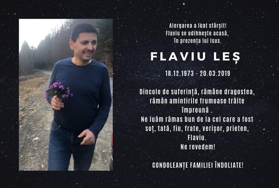 Alergarea a luat sfârșit. Flaviu Leș se odihnește Acasă!