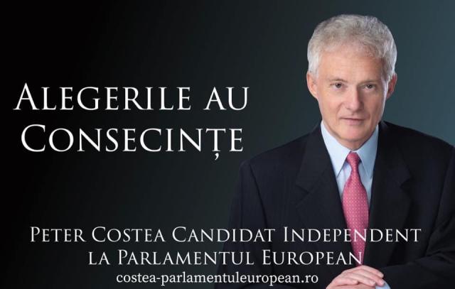BEC a stabilit ordinea pe buletinele de vot la europarlamentare: PETER COSTEA Pozitia nr. 16