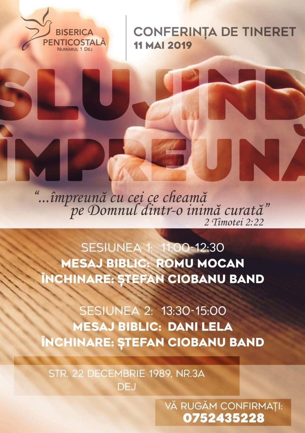 Dej Conferinta De Tineret Invitati Stefan Ciobanu Band Dani Lela