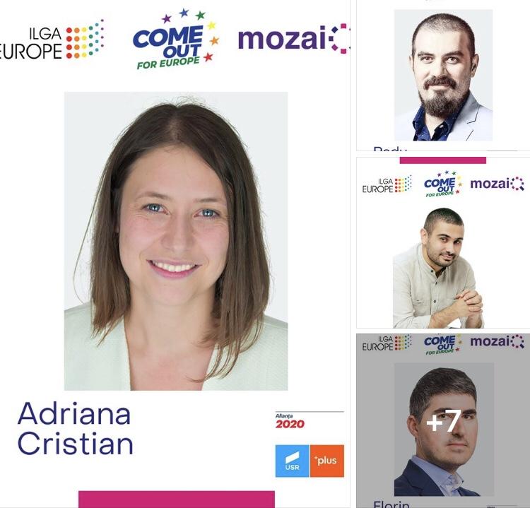 Lista candidaților români care și-au asumat în mod public SUSȚINEREA AGENDEI LGBT în cazul în care vor fi aleși la alegerile din 26 Mai pentru Parlamentul European
