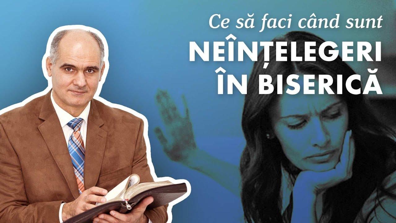 Ce să faci când sunt conflicte în biserică? | Pastor Vasile Filat