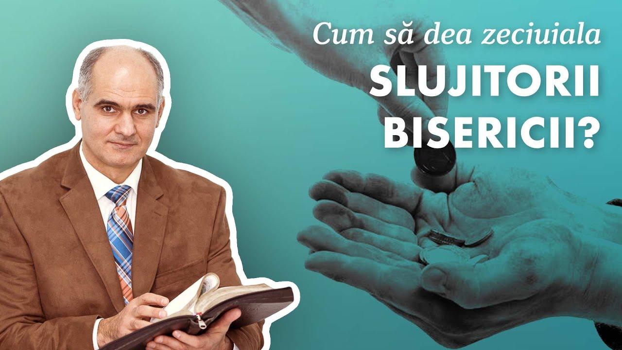 Cum trebuie să dea zeciuiala slujitorii bisericii?