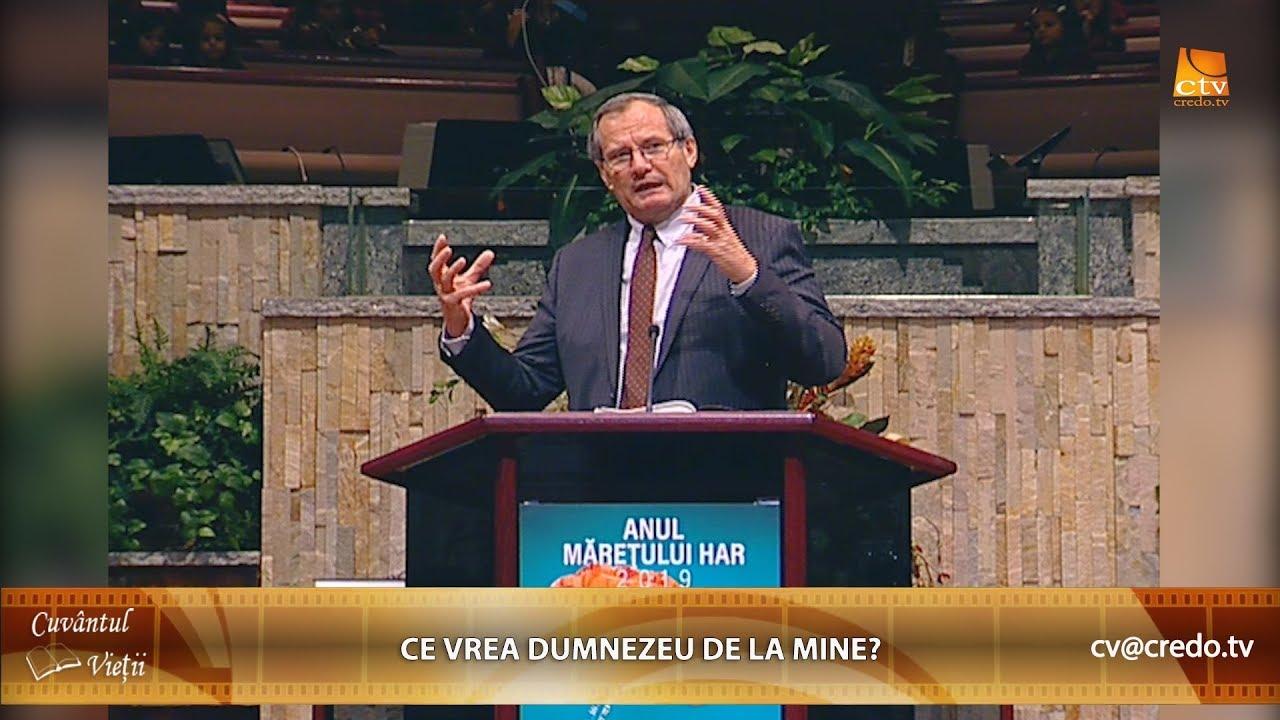 CORNEL AVRAM: Ce Vrea Dumnezeu De La Mine?