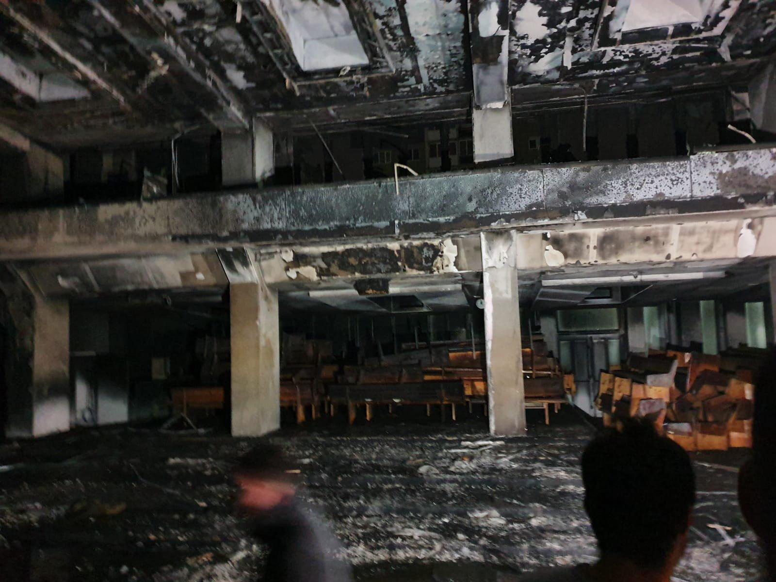 COMUNICAT DE PRESĂ: Detașamentul de Pompieri Arad despre incendiu din Biserica Betel