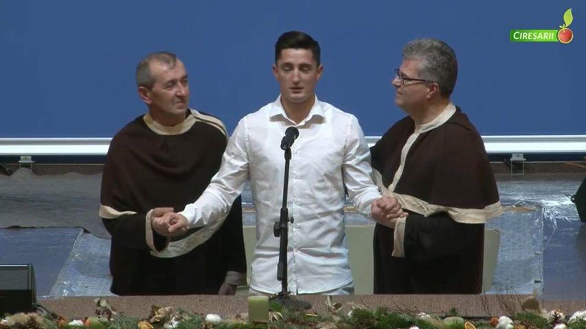 VIDEO: Fotbalistul Steliano Filip de la Viitorul Constanta s-a botezat!