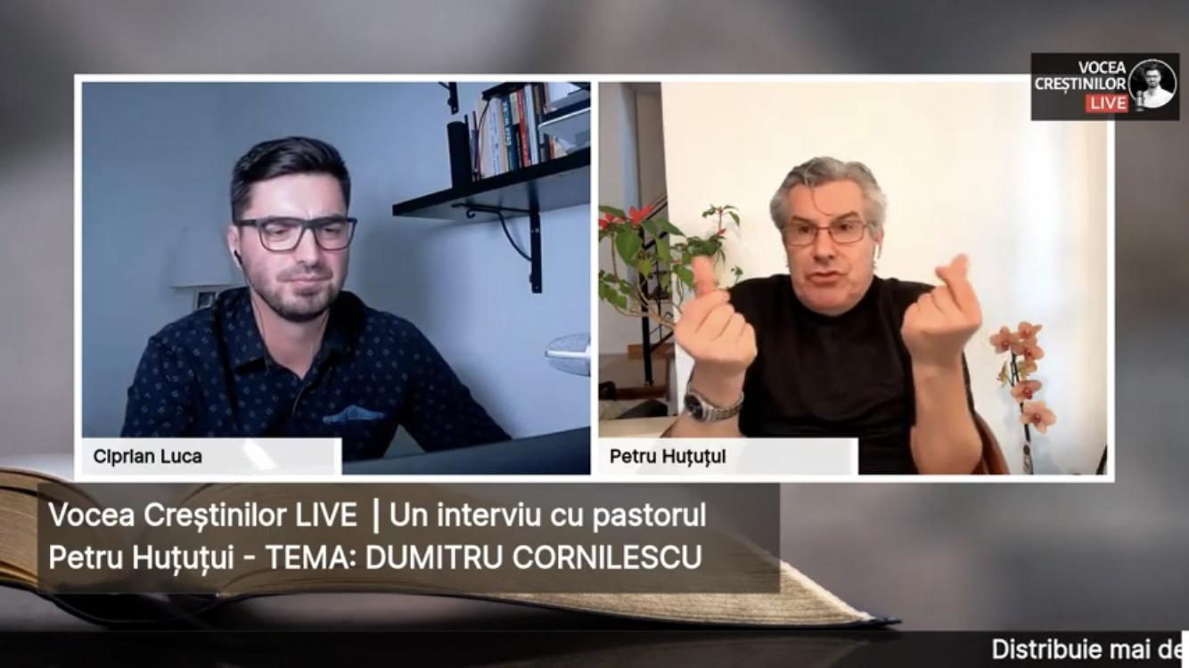 DUMITRU CORNILESCU ⎜ Interviu cu pastorul Petru Huțuțui – Ep.5 ⎥ Vocea Creștinilor LIVE