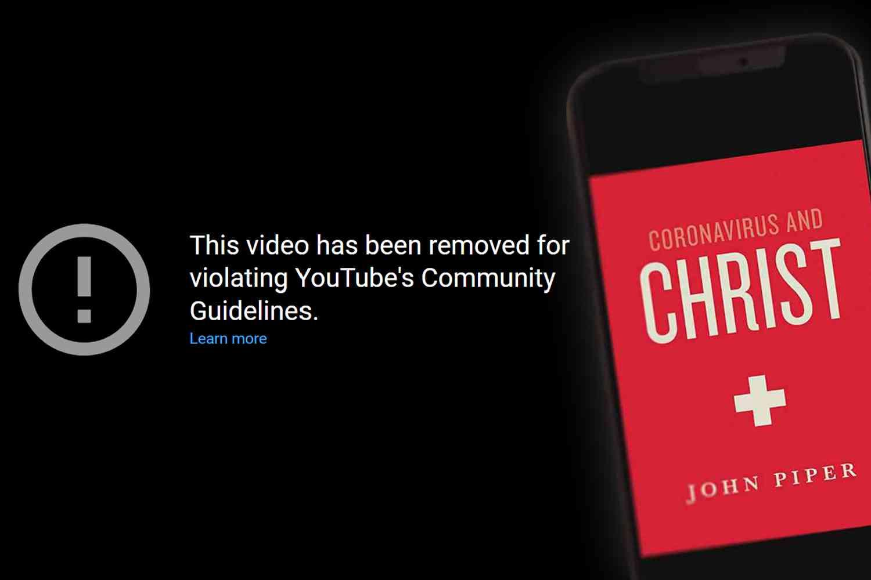 """YouTube a blocat cartea audio a lui John Piper, """"Coronavirus și Hristos"""""""