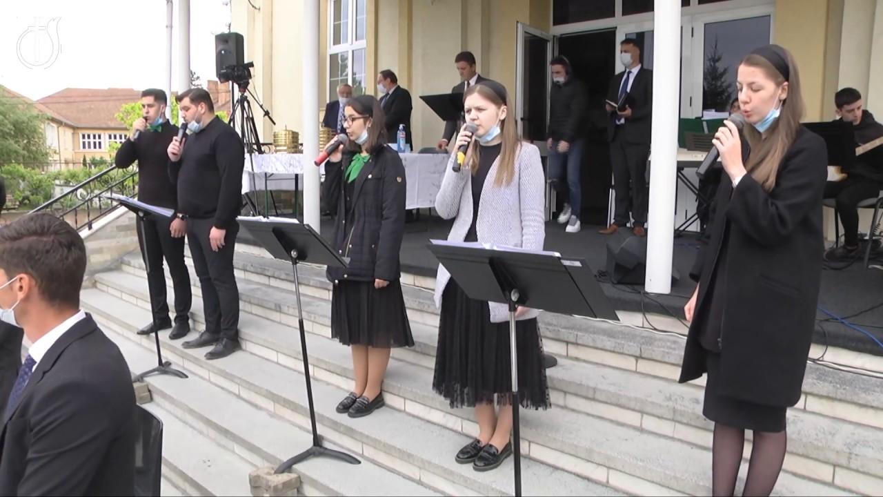 Grup din Biserica Emanuel Sibiu: Tu ești tare, ești puternic!