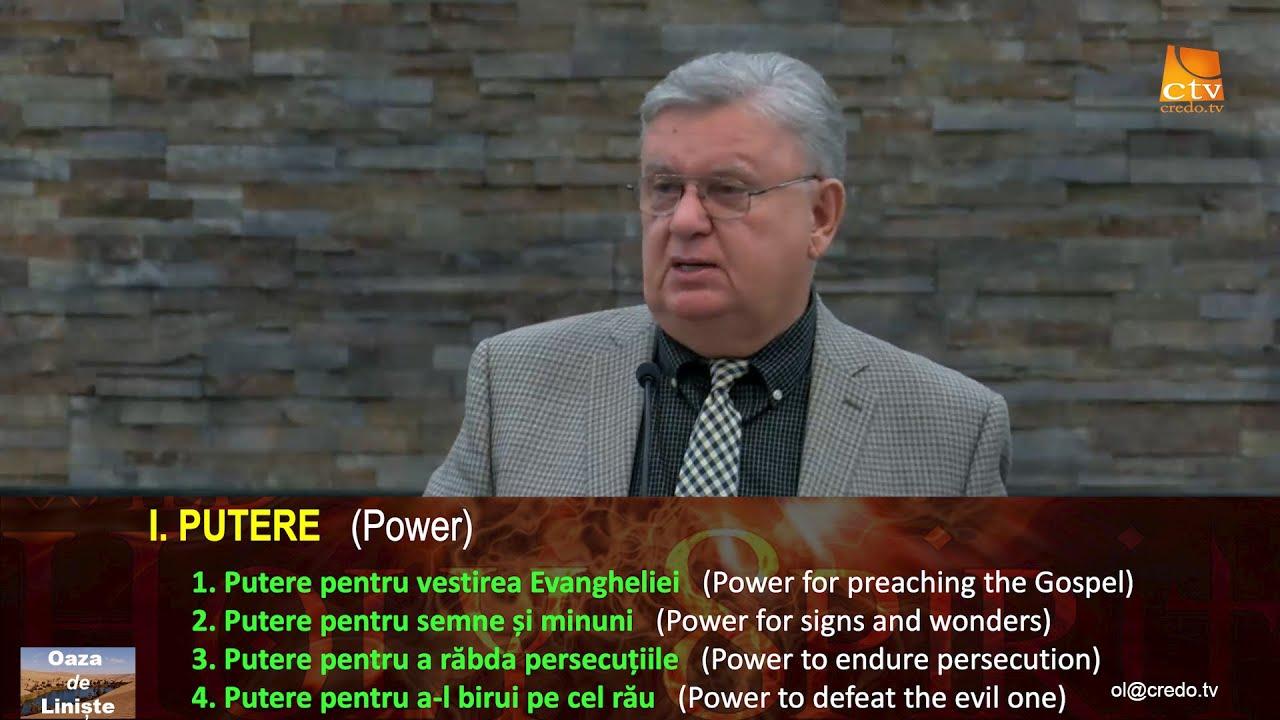 Petru Lascau: Duhul Sfânt de la Cincizecime
