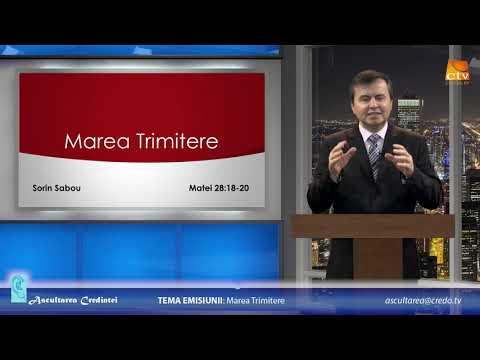 SORIN SABOU: Ascultarea Credinței – Marea Trimitere