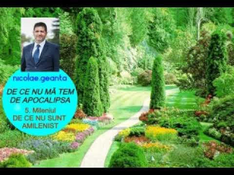 Nicolae Geantă – De ce NU mă tem de Apocalipsa