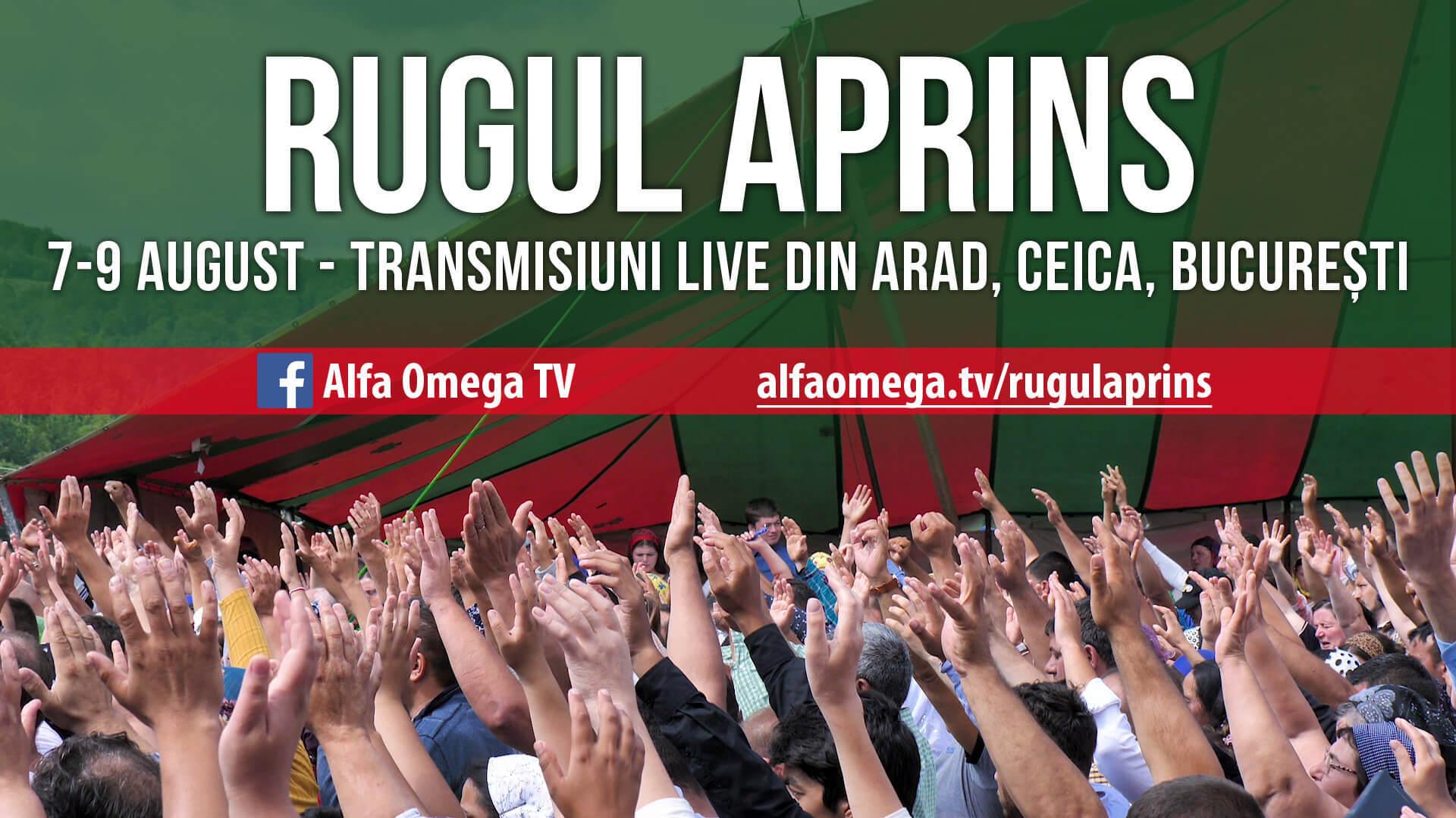 Rugul Aprins – 7-9 August 2020 – transmisiuni
