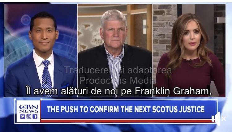 Franklim Graham – Îi chem pe oameni alături de mine să chemăm Numele Dumnezeului cel Atotputernic – Marşul pentru Rugăciune, 26 Septembrie 2020