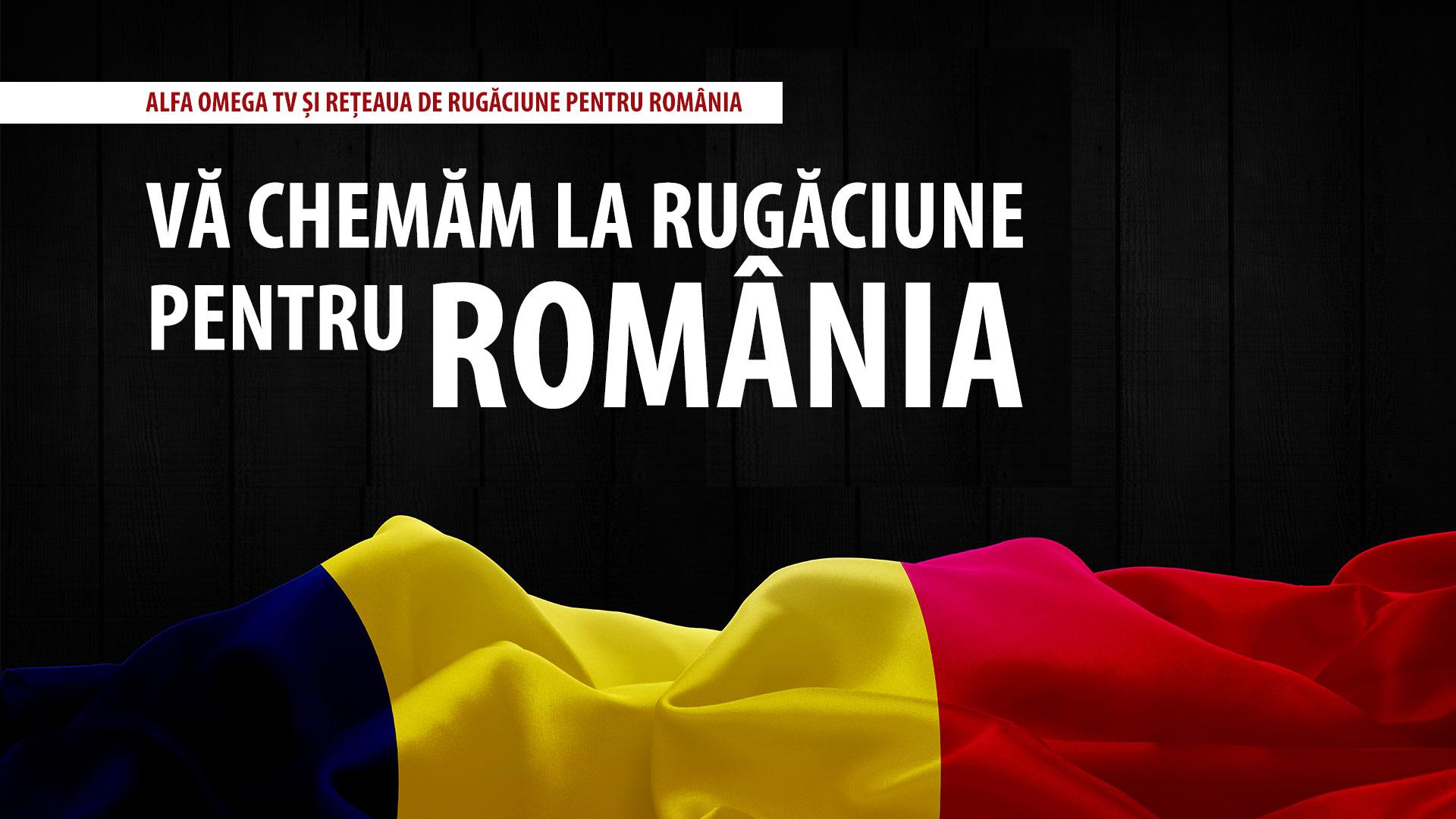 Chemare la post și rugăciune pentru România | 26 septembrie 2020