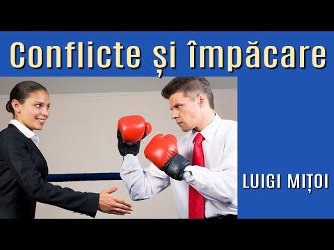 Luigi Mițoi: Conflicte și împăcare