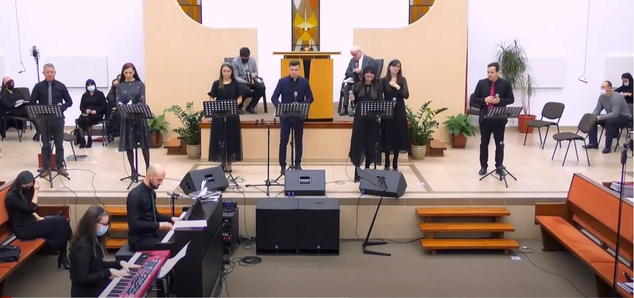 Grup din Biserica Penticostala nr 1 Dej :Așa vorbește Domnul, cel ce te-a creat (Nu te teme!)