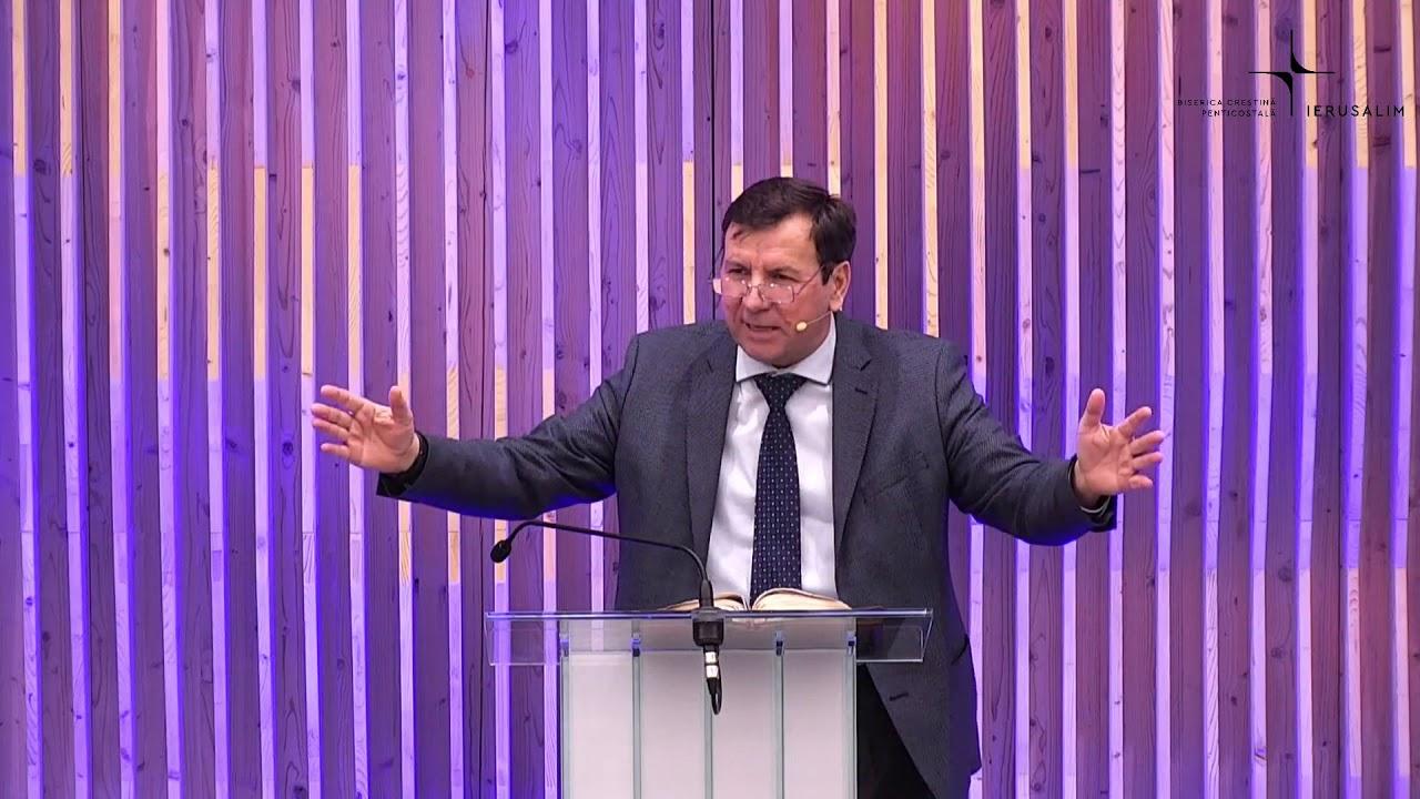 Vasile Bujor: Evanghelizare Biserica Ierusalim Gherla